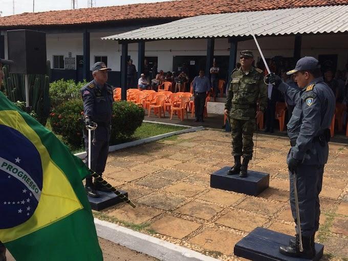 Comandante Geral da PMMA realiza passagem de comando no 2ºBPM