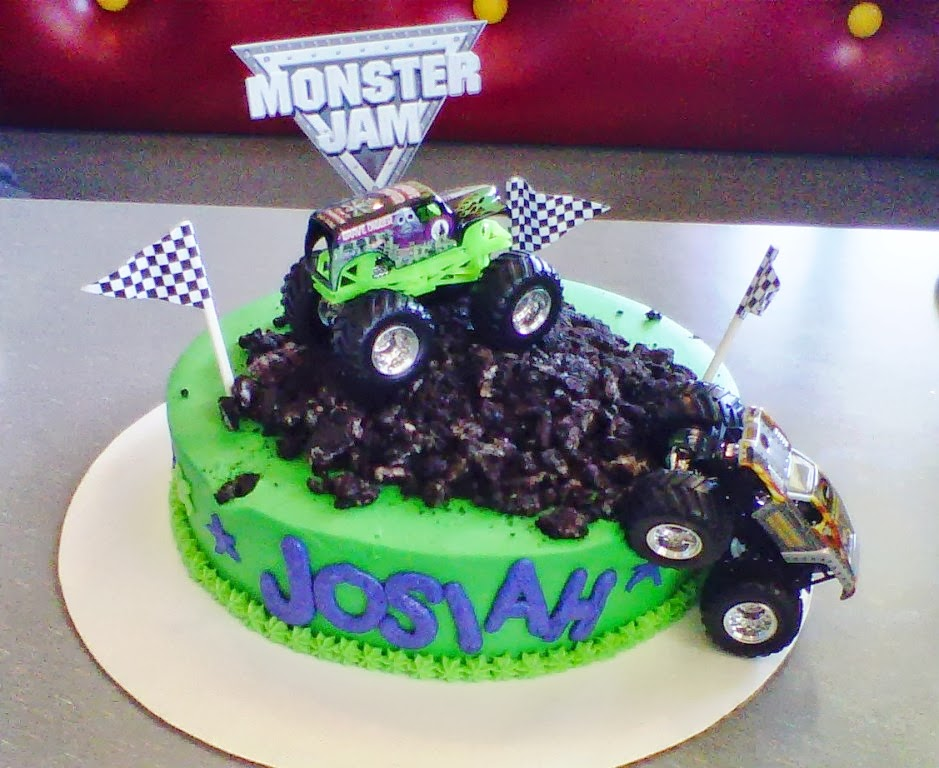 Party Cakes Monster Jam Birthday Cake