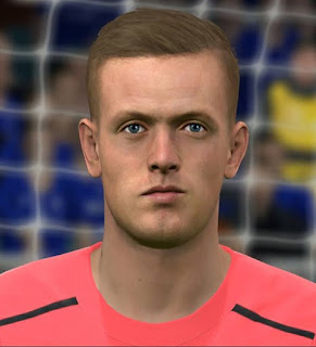 PES 2017 Faces Jordan Pickford by Sameh Momen