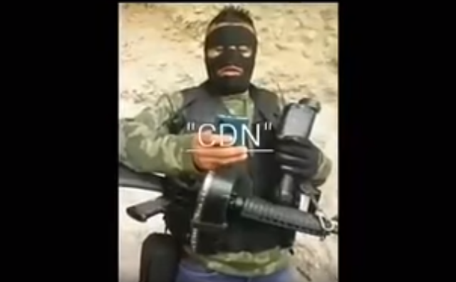 VIDEO: CDN MANDA AMENAZAS POR TRAER A LAS PUT..AS DEL CJNG A SAN LUIS POTOSI