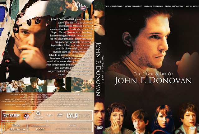 The Death and Life of John F. Donovan DVD Cover