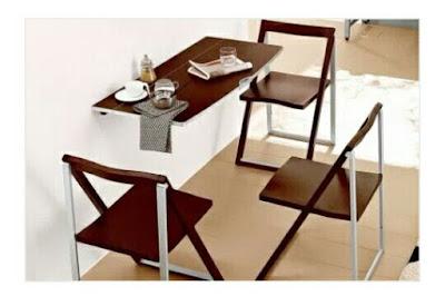 Meja Lipat ruang keluarga