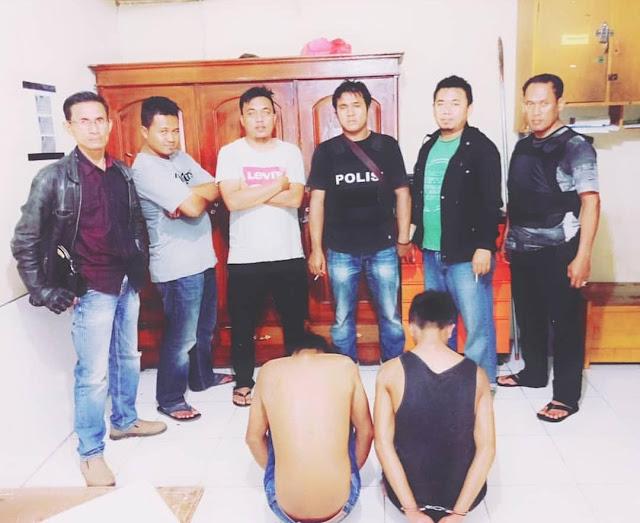 Akhirnya Buronan Kasus Curas Tertangkap Polsek Terusan Nunyai