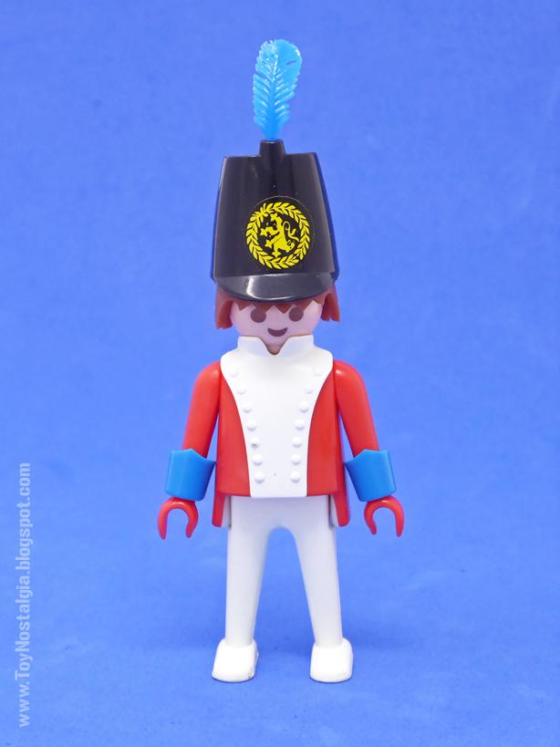 "Playmobil 3544, soldado británico ""casaca roja""  (Playmobil 3544 - redcoats)"