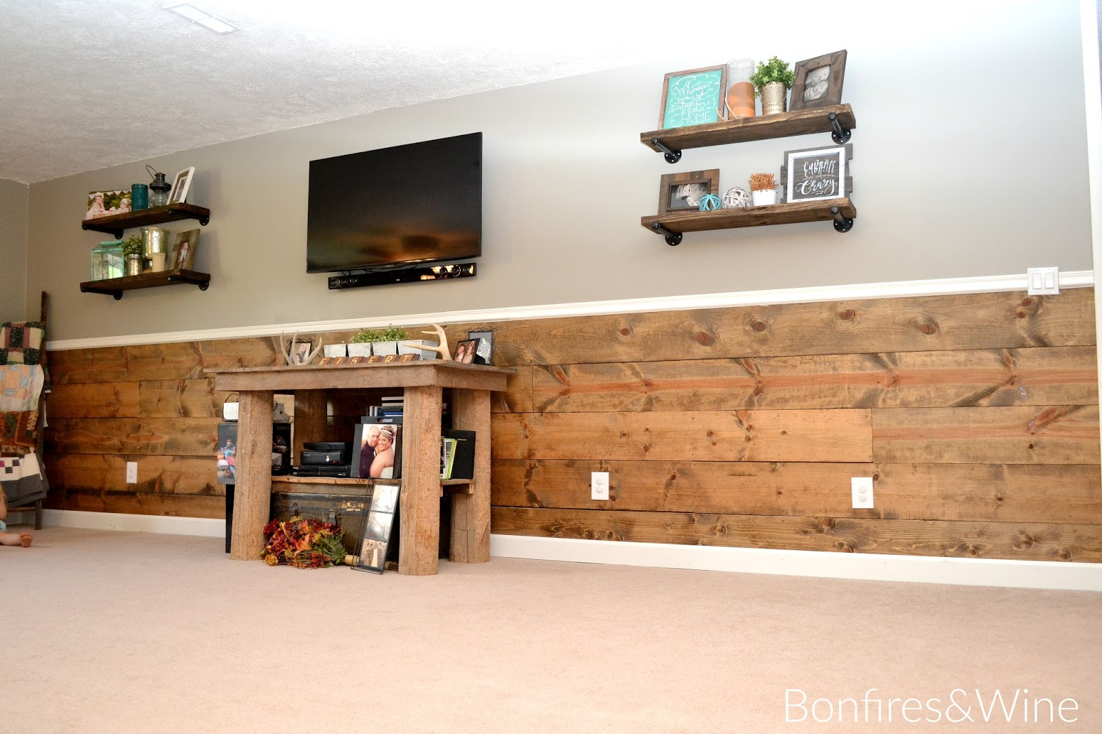 Bonfires and wine our industrial farmhouse living room overhaul amipublicfo Choice Image