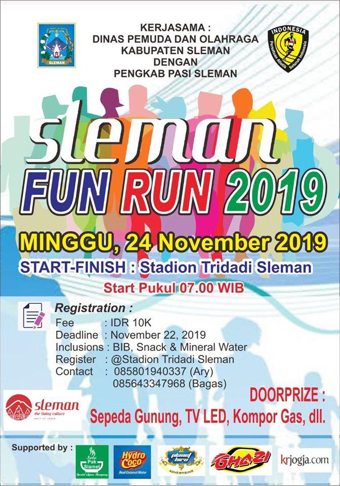 Sleman Fun Run • 2019