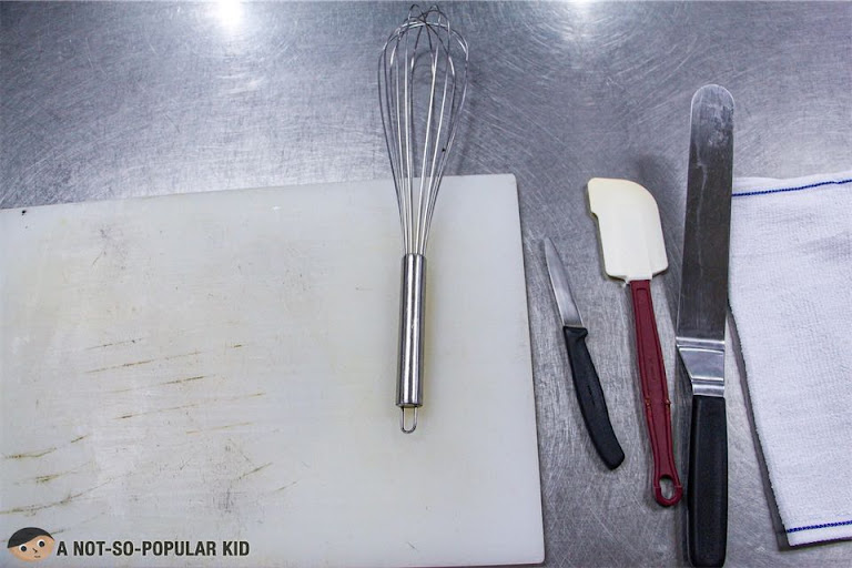 Kitchen and baking tools in Enderun Extension