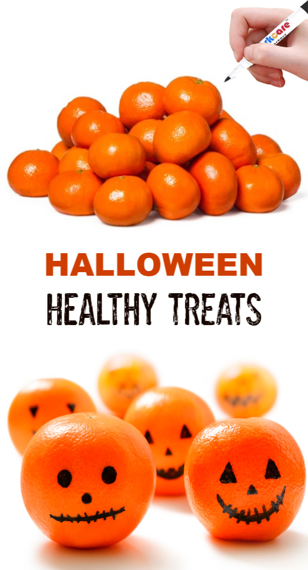 Give the kids a healthy treat this Halloween and make clementine pumpkins.  Pumpkin oranges are great for Halloween parties, school lunches, and more! #halloween ##pumpkinoranges #clementinepumpkins #clementinepumpkinsnacks #pumpkinclementines #halloweenclementinepumpkins #halloweentreatideas #halloweensnacks #halloweenpartyideas #pumpkinorangessnack #growingajeweledrose #activitiesforkids #halloweenclementines