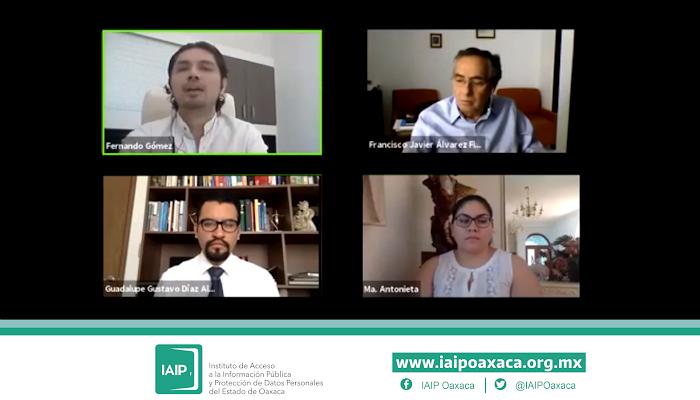 Pleno del IAIP reconoce públicamente al municipio de Oaxaca de Juárez