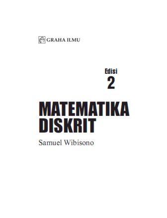 Ebook Matematika Diskrit Rinaldi Munir