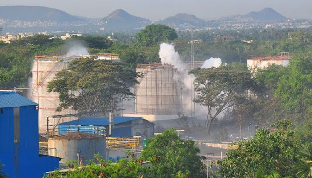 Gas leak at LG Polymers plant in India kills nine, hundreds hospitalised