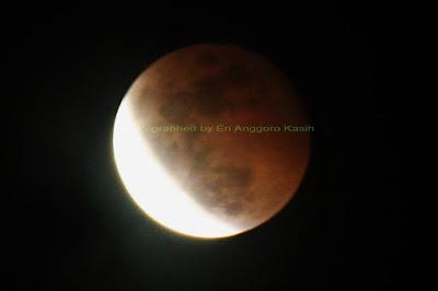 Tahapan fase gerhana bulan total