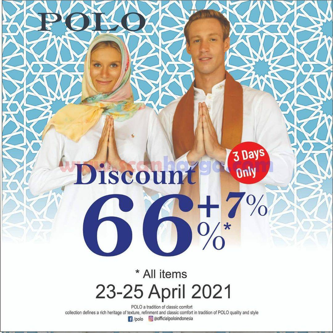 Polo Ralph Lauren Promo Discount 66% + 7% Off All Item