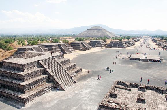 Quien diseñó Teotihuacán