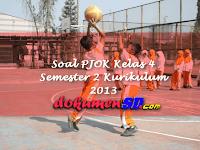 Soal PJOK Kelas 4 Semester 2 Kurikulum 2013
