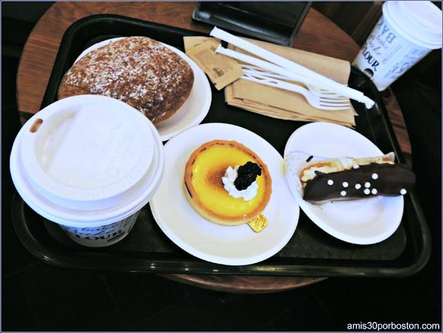 Desayuno en la Tienda de la  King Arthur Flour, Vermont