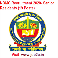 NDMC Recruitment 2020, Senior Residents (19 Posts)