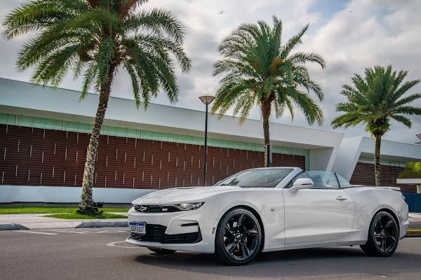Chevrolet Camaro completa 10 anos de vendas no Brasil