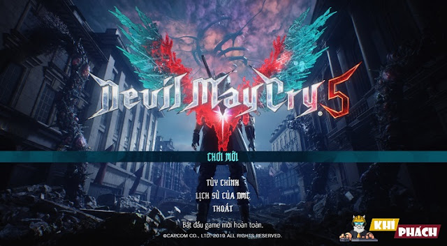 Download Game Devil May Cry 5 Full cho PC