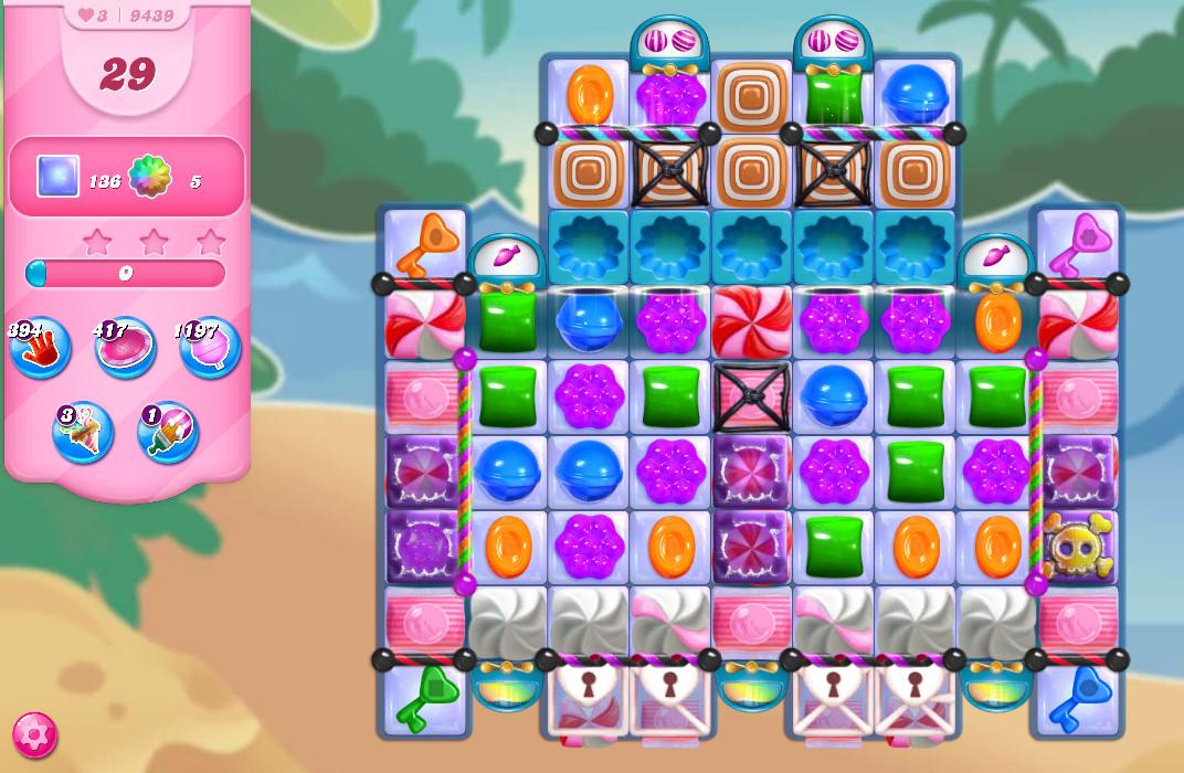 Candy Crush Saga level 9439