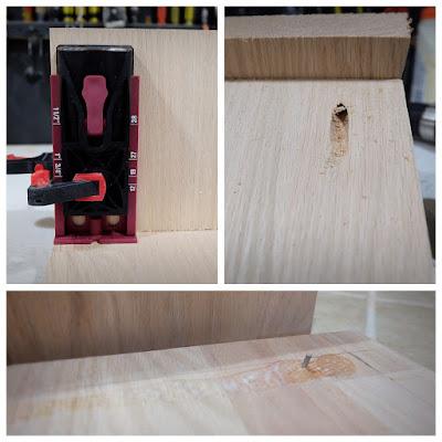 pocket hole jig test screw break