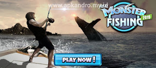 Monster Fishing 2020 MOD APK (Diamonds/Gold/Hooks)