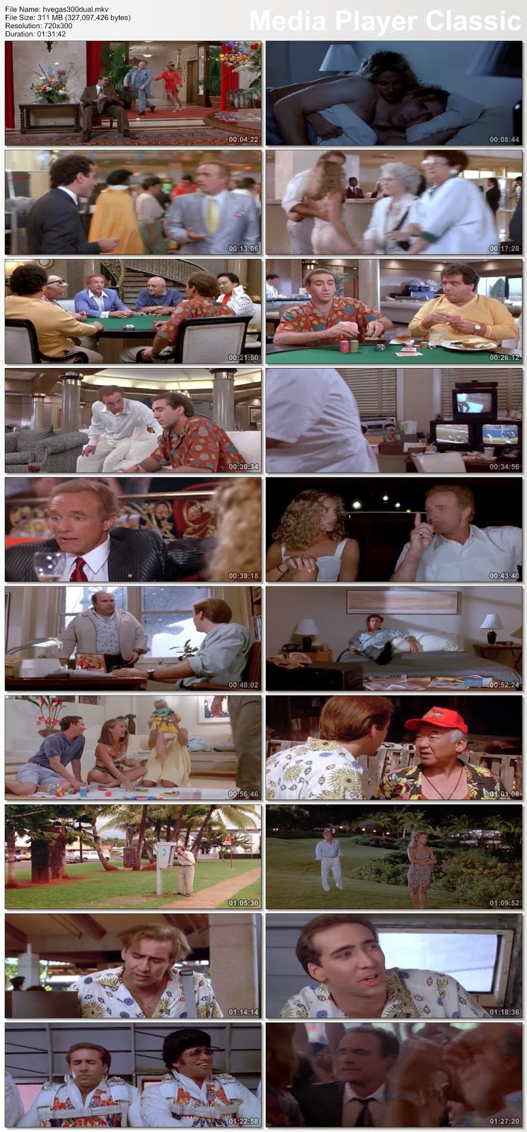 Honeymoon In Vegas 1992 Hindi Dubbed Dual DVDRip 300mb