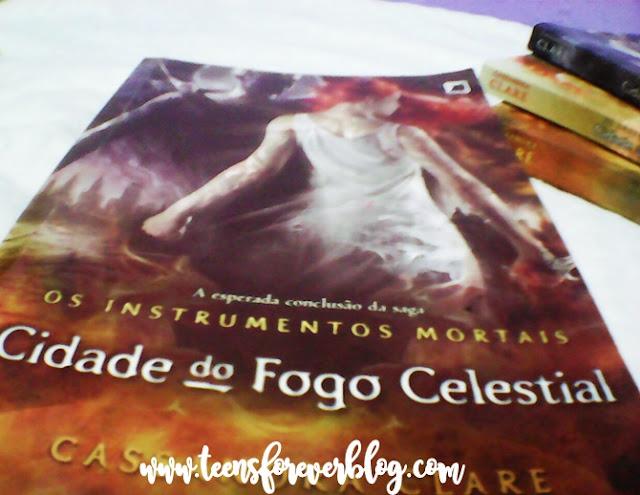 RESENHA CIDADE DO FOGO CELESTIAL