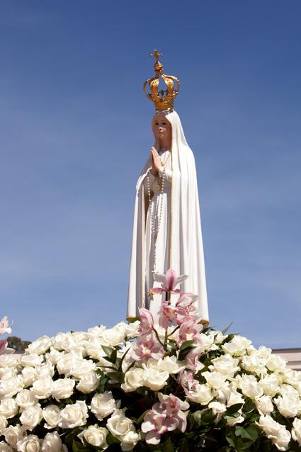 Visita da imagem peregrina de Nossa Senhora de Fátima ao município de Registro-SP vinda de Portugal