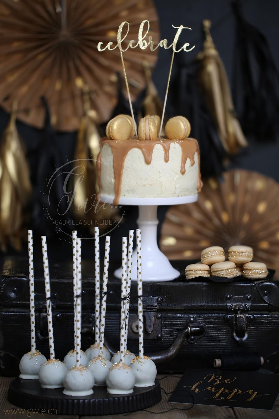 g wie happy new year walnuss brandy torte mit weisser. Black Bedroom Furniture Sets. Home Design Ideas