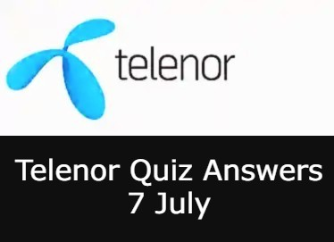7 July Telenor Answers Today
