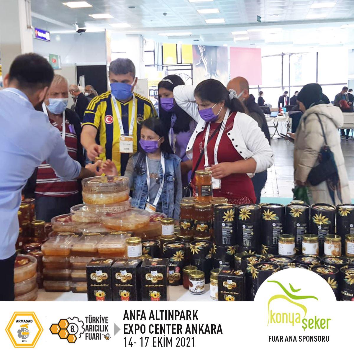 Armasad 8.Türkiye Arıcılık Fuarı 2021 ANKARA Altınpark fuar alanı