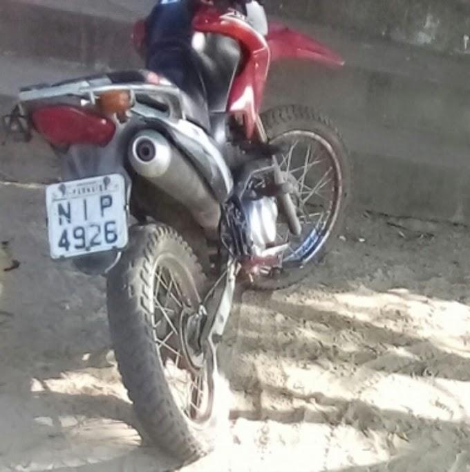 Homem tem moto roubada por criminosos no povoado Toco Preto em São Bernardo-MA