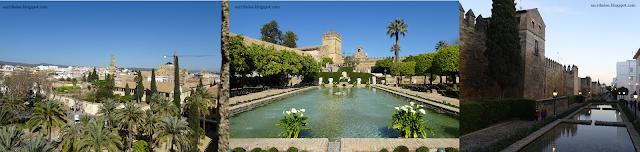 Viaje a Córdoba: vistas desde el alcázar, sus jardines y puerta de la judería