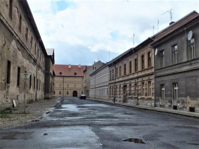 calle gueto Terezín