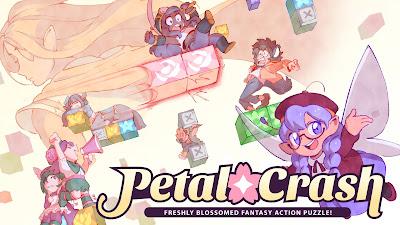 Petal Crash Game Logo