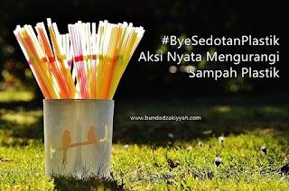 #ByeSedotanPlastik: Aksi Nyata Mengurangi Sampah Plastik