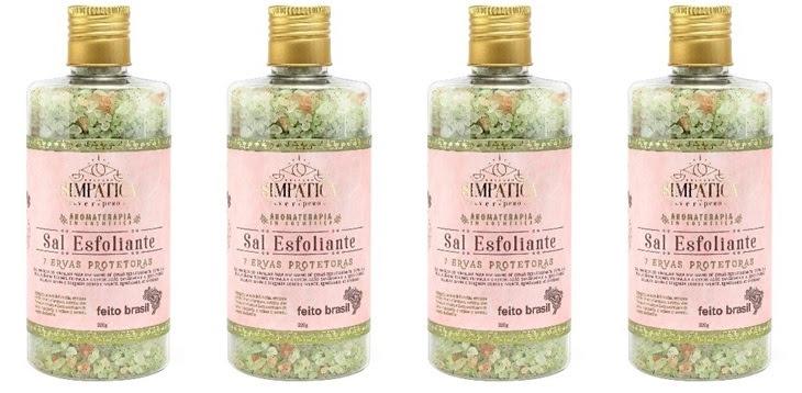 Sal Esfoliante 7 Ervas Protetoras Simpática