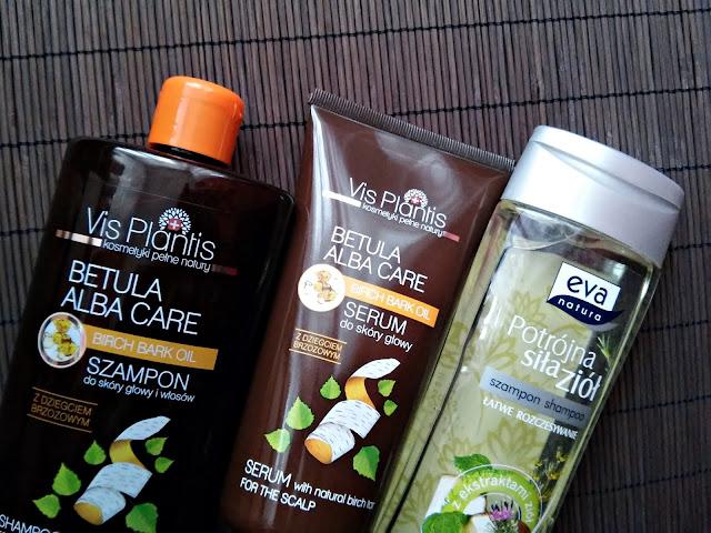 plan pielęgnacji włosów na listopad 2016, szapony, dziegieć brzozowy, czarna rzepa