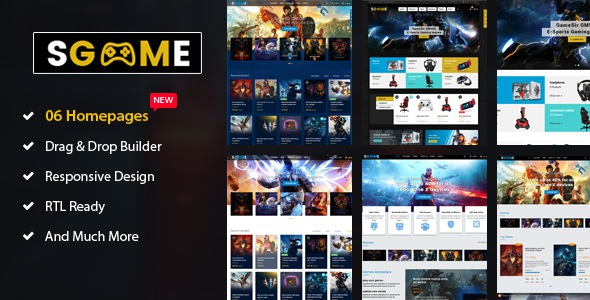 Games Shopify Theme