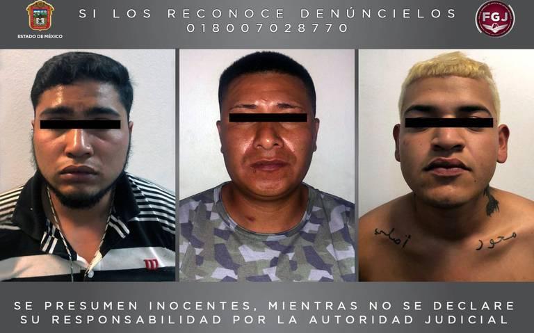 Detienen en Melchor Ocampo, Edomex a tres integrantes del Cártel Jalisco Nueva Generación