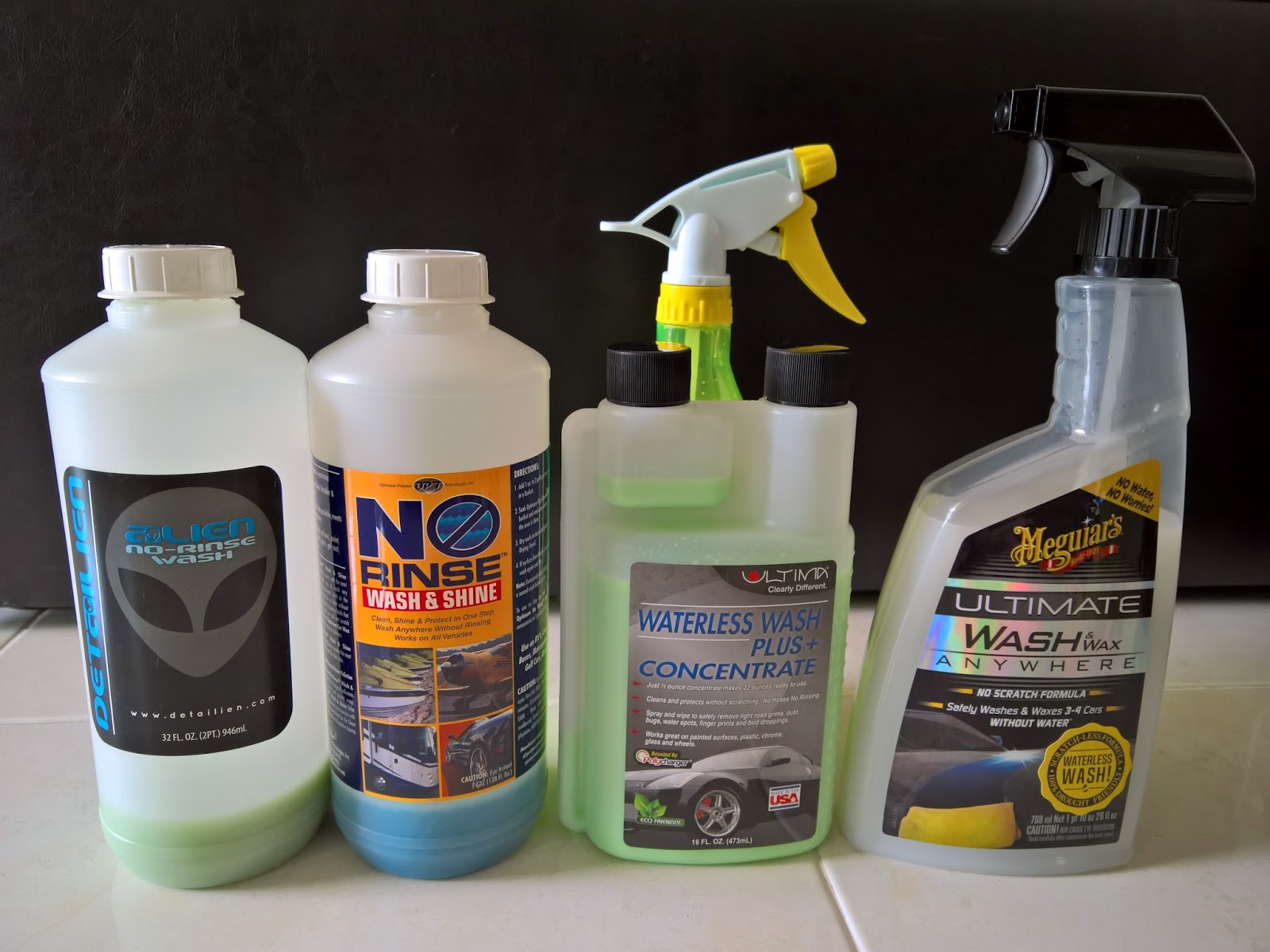 Micro Detailer Md Ceramic Wash Xpress No Rinse Residue Coating Car