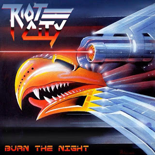 "Ο δίσκος των Riot City ""Burn the Night"""