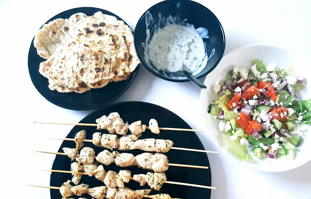 How to make a healthy Greek Dinner