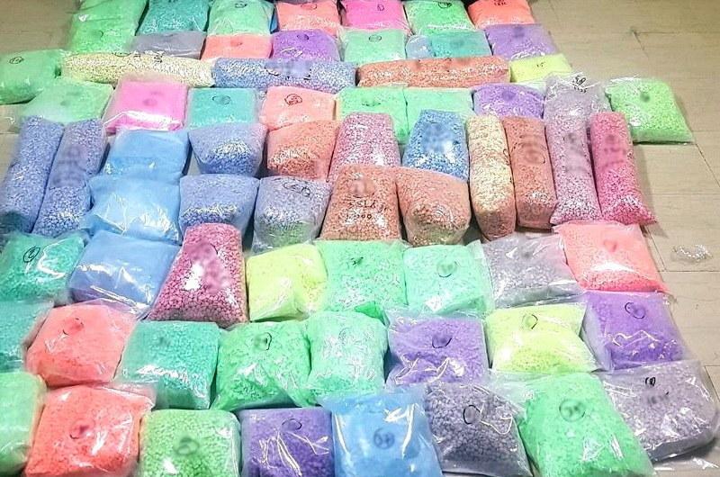 500.000 ναρκωτικά χάπια ecstasy εντόπισαν αστυνομικοί της Δίωξης Ναρκωτικών Κομοτηνής