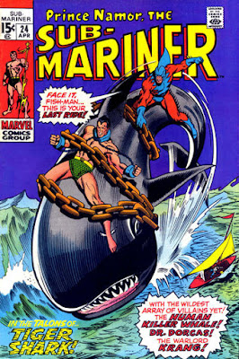 Sub-Mariner #24, Tiger-Shark