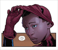 Miles morales reveals his secret identity to his father in Cataclysm Ultimate Comics Spider-Man 2