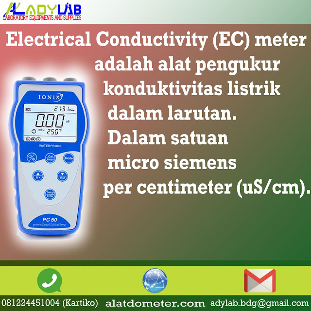harga konduktivitas meter