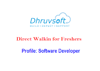 Dhruvsoft-walkin-freshers-software-developer