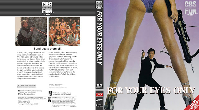 For Your Eyes Only Bluray Cover